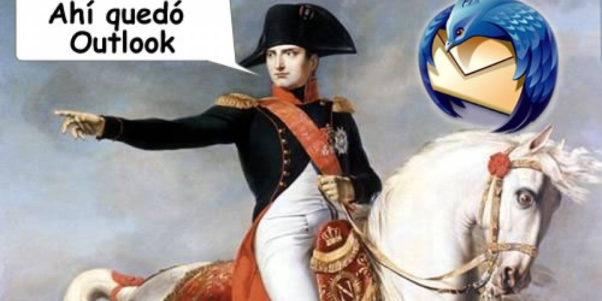 El ejército francés apoya a Mozilla Thunderbird