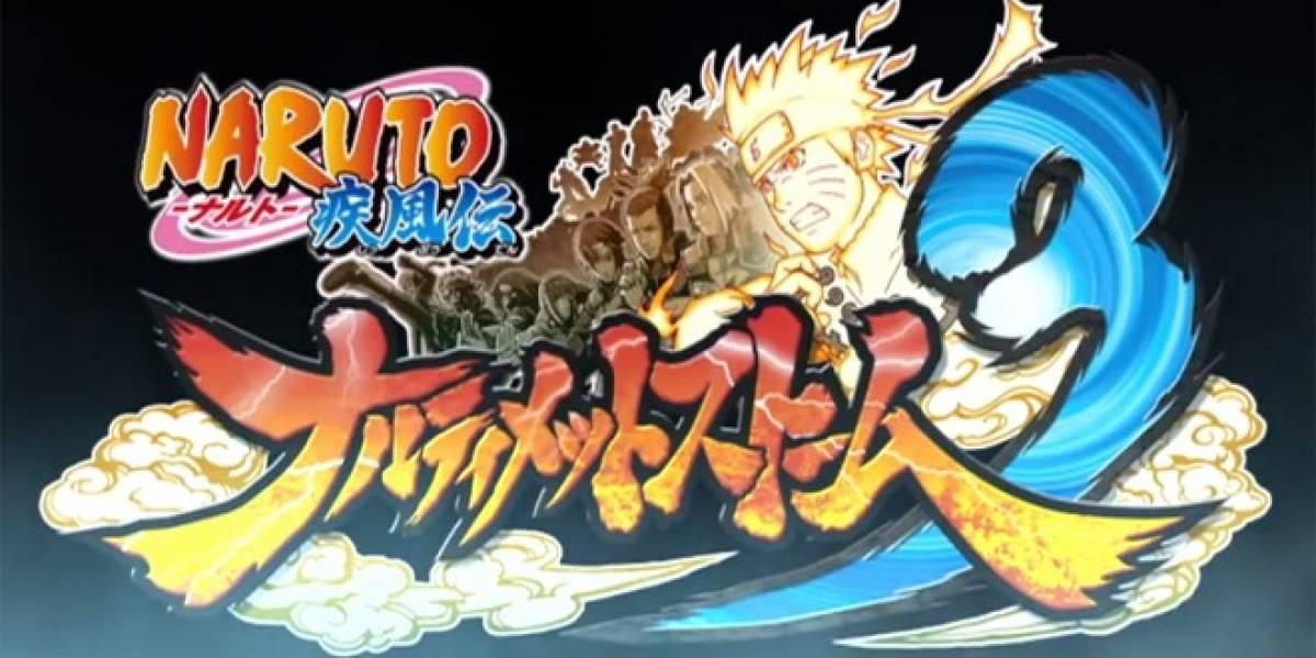 Naruto Shippuden Ultimate Ninja Storm 3 estrena tráiler y personajes