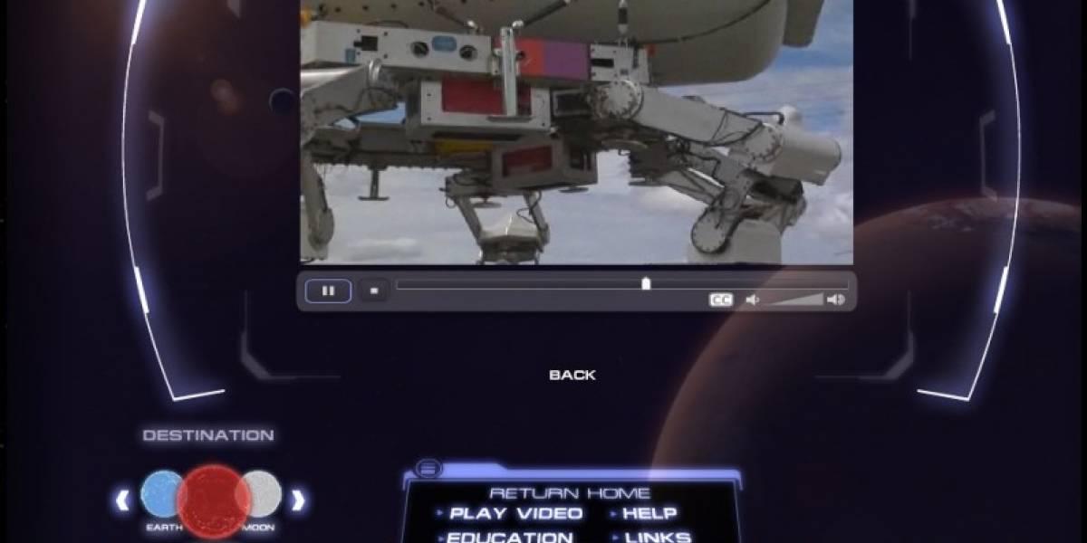 Imperdible: Página interactiva del proyecto Constellation