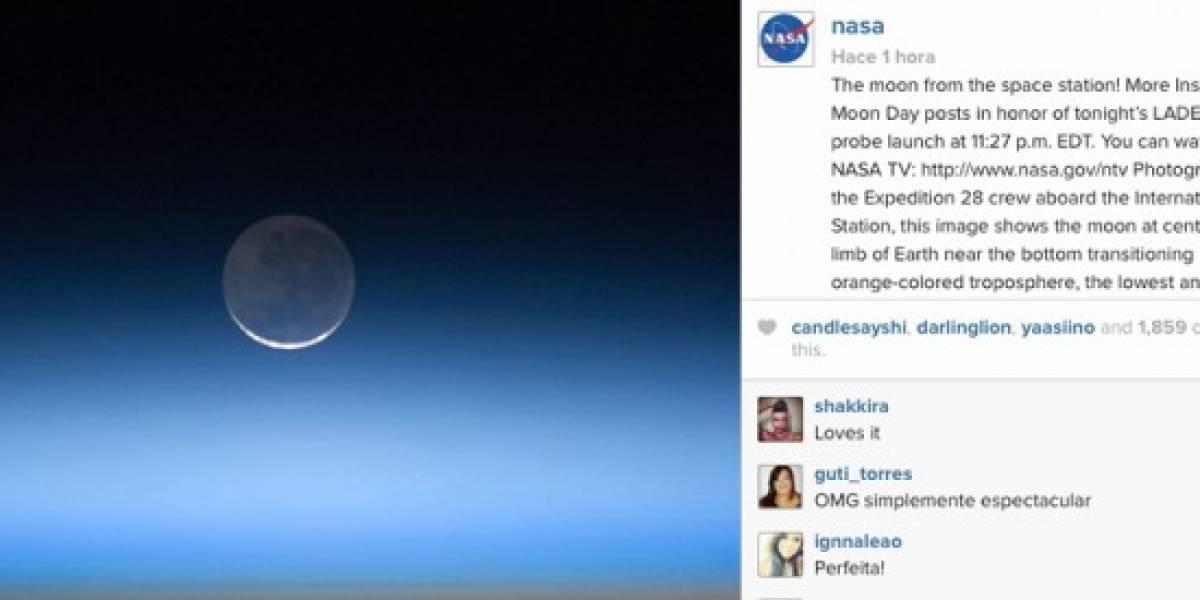 NASA estrena cuenta oficial en Instagram