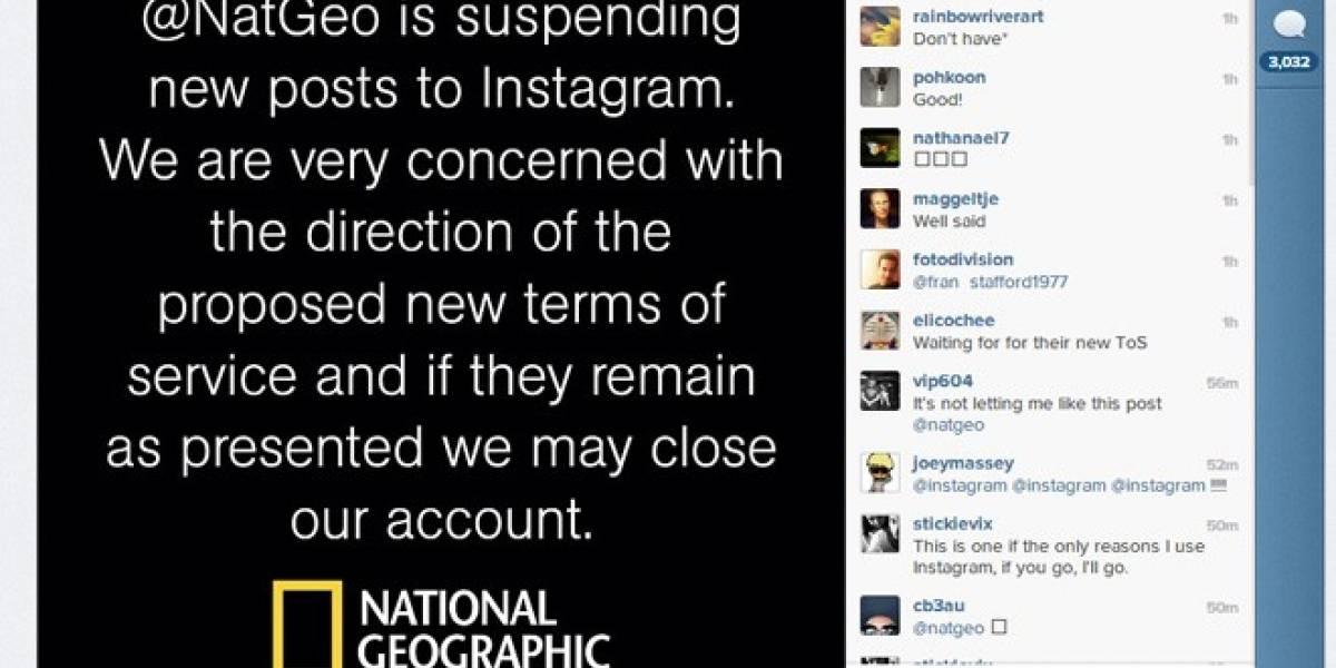 National Geographic deja de subir fotos a Instagram por los nuevos términos