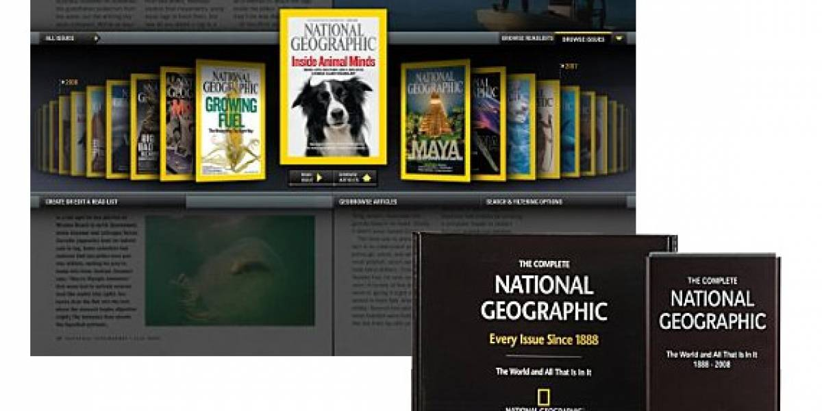 120 años de de National Geographic en un disco duro de 160GB