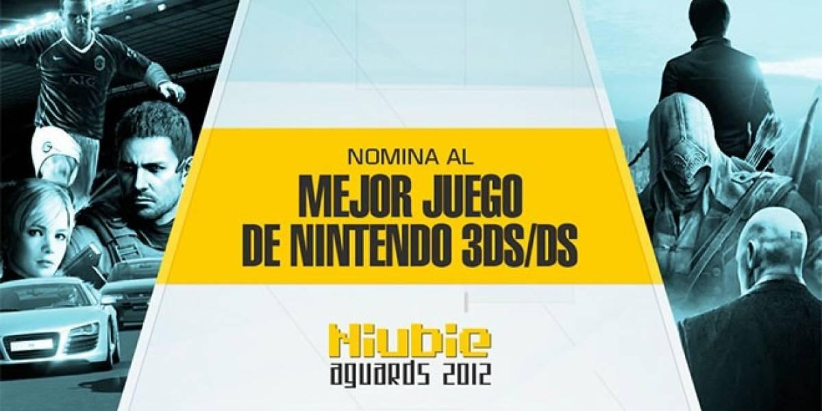 Nomina al Mejor Juego de Nintendo 3DS/DS 2012