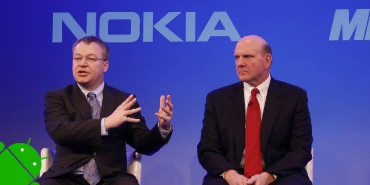 Prototipo de Nokia Normandy posa frente a las cámaras