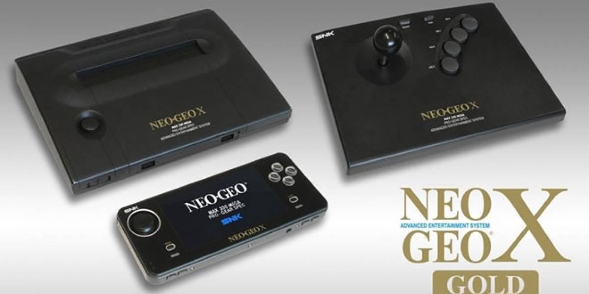 Neo Geo X Gold ya tiene precio y fecha de lanzamiento