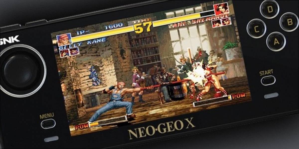 Neo Geo X revela sus detalles y rebaja su precio