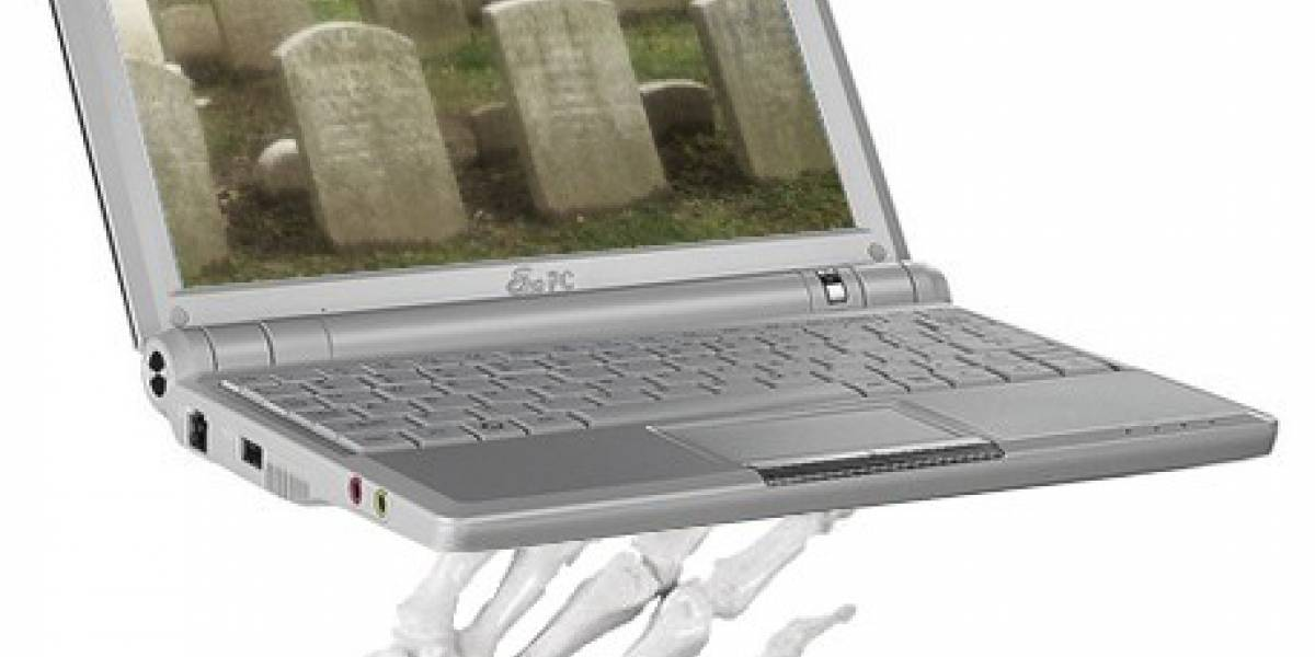 Ventas de Netbooks sufren gran caída