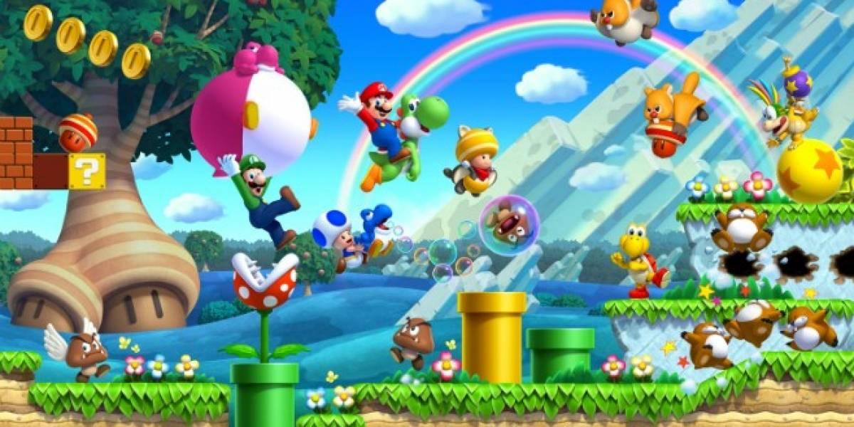 Nintendo detalla los modos de juego en New Super Mario Bros. U