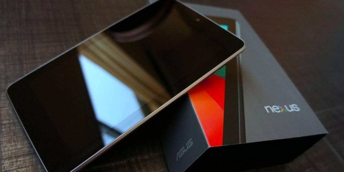 Segunda versión de la Nexus 7 sería lanzada en julio de este año