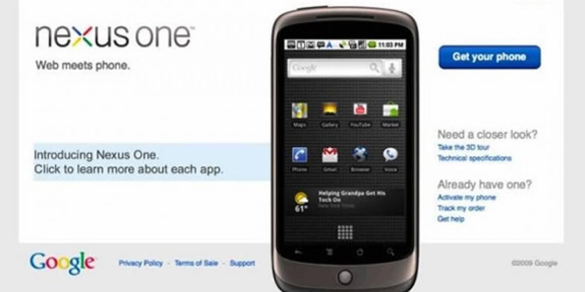 Google Nexus One y su modelo de negocios
