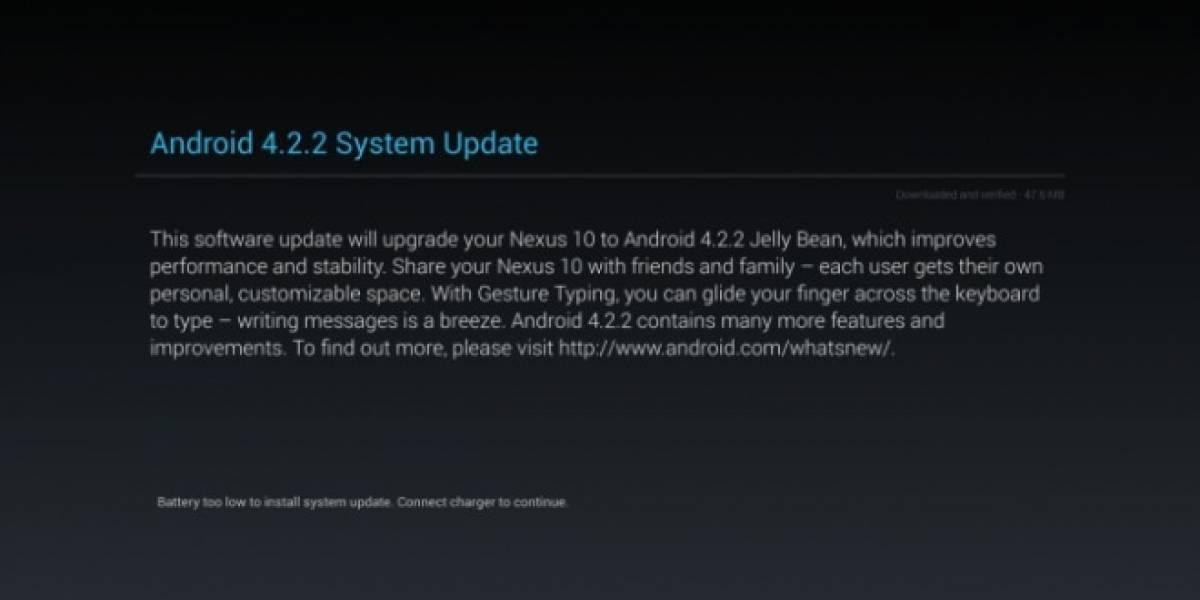 Google comienza a distribuir Android 4.2.2 a algunos equipos Nexus