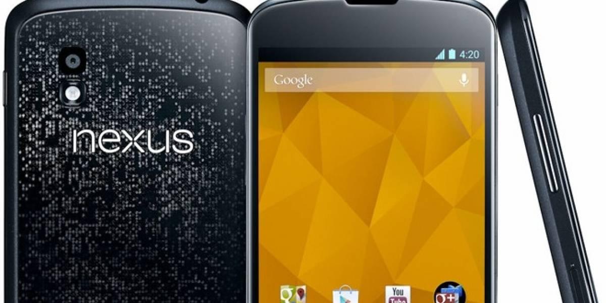 Se han vendido cerca de 400.000 teléfonos Google Nexus 4