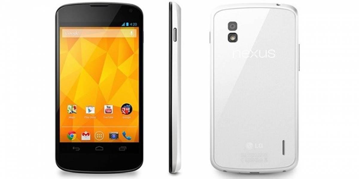 LG Nexus 4 en blanco ya es oficial