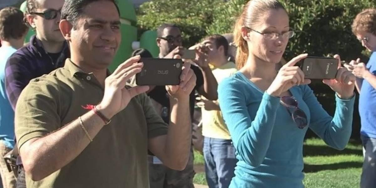 ¿Acaso Google dejó que el próximo Nexus se filtrara en video?