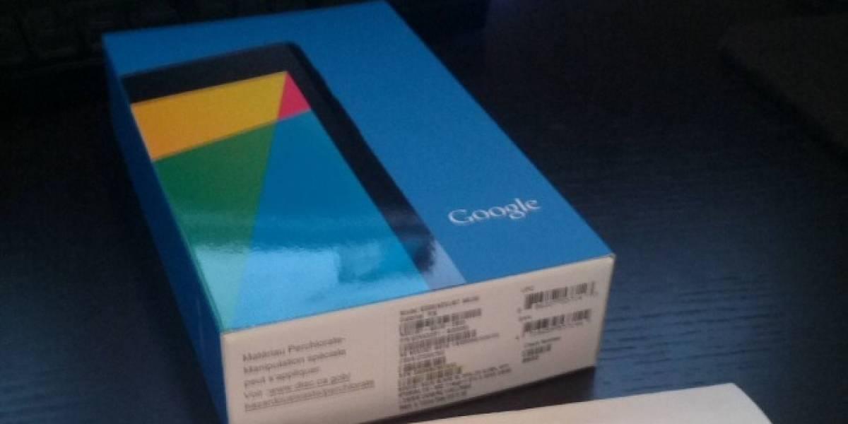 Antes de su lanzamiento, hasta la caja del nuevo Nexus 7 se filtró
