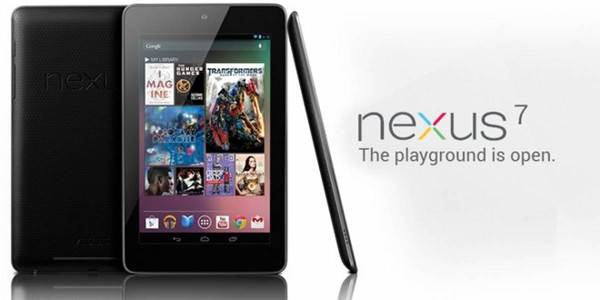 Nexus 7, el nuevo tablet de Google con hambre de juegos y precio agresivo