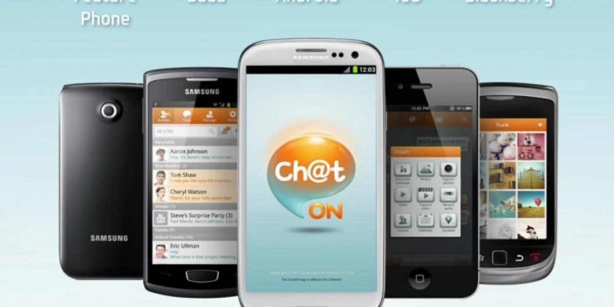 ChatON de Samsung alcanza los 100 millones de usuarios