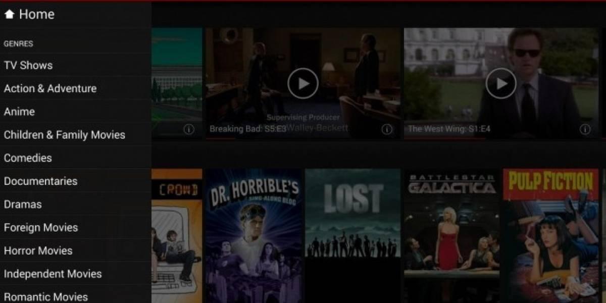 Netflix para Android se actualiza integrando nueva interfaz