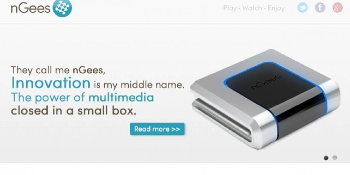 nGees otra consola con Android al estilo de Ouya