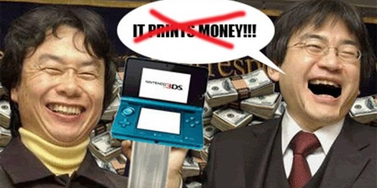 Nintendo reporta pérdidas millonarias en el primer cuarto del 2012