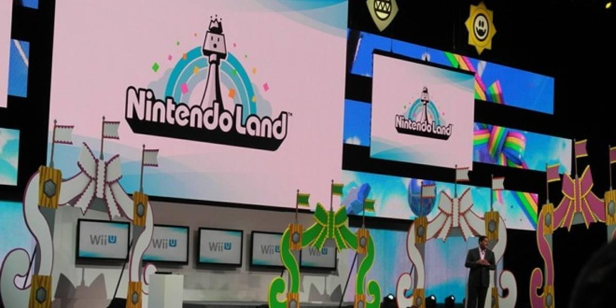 E3 2012: Nintendo Land, el parque de diversiones virtual de la Wii U