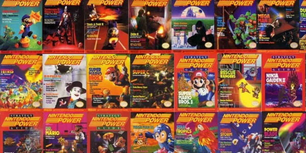Con una nostálgica portada Nintendo Power dice adiós