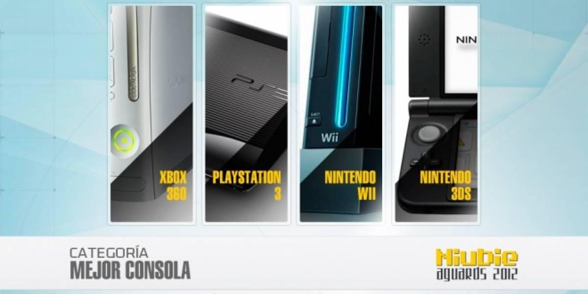 Niubie Aguards: Vota por la Mejor Consola del 2012