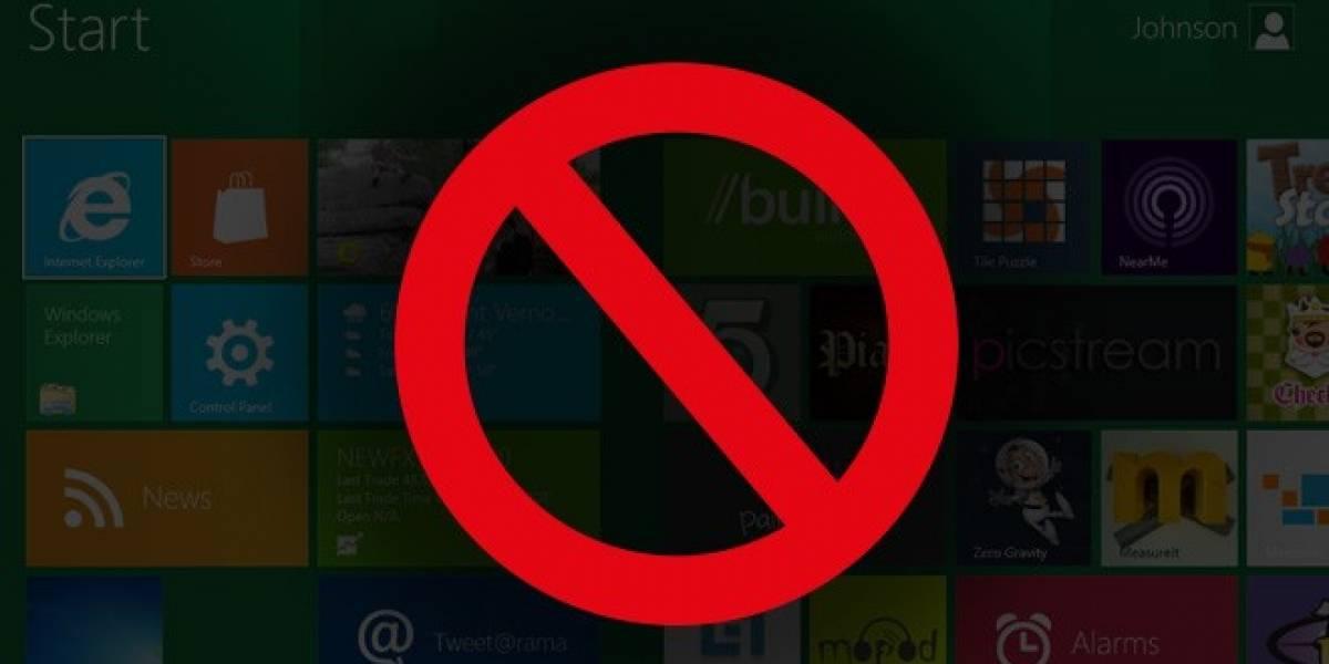 Windows 8 no sería apto para jugar después de todo