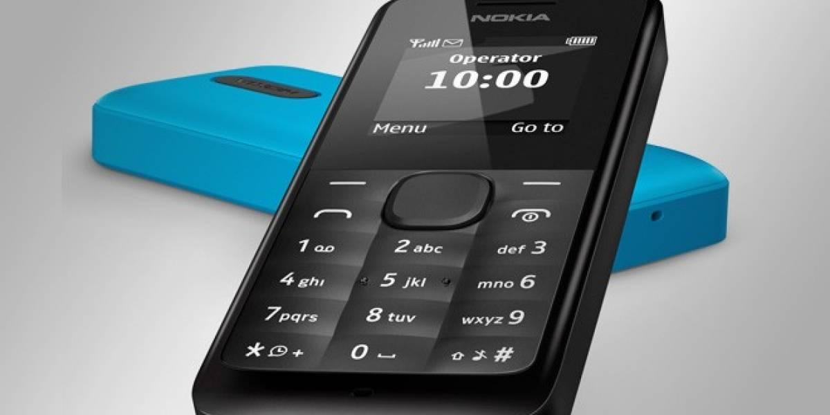 Nokia gana lo mismo al vender un modelo de USD$20 que un Lumia gama alta