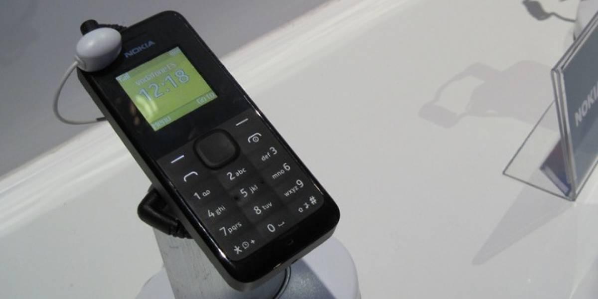 Nokia 105: No tiene Bluetooth, NFC, Wi-Fi o 3G, pero dura 35 días encendido