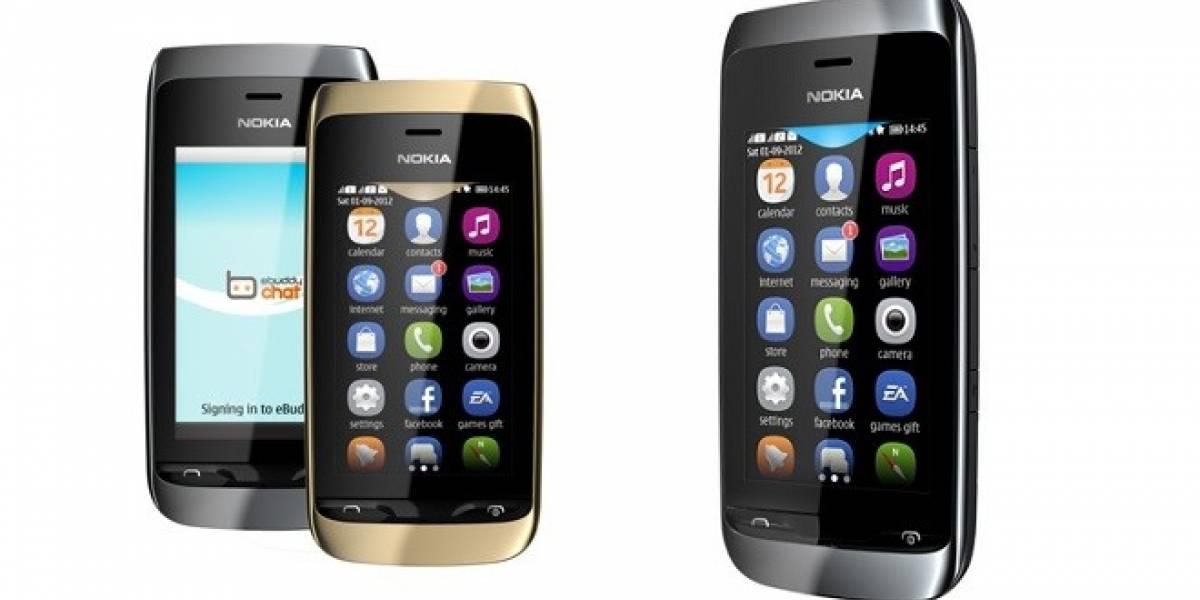 Nokia presenta el Asha 310, un equipo Doble SIM y Wi-Fi muy barato