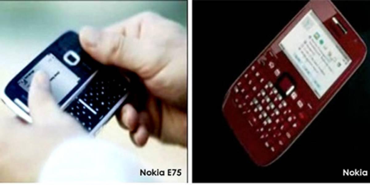 Nokia E72 y E75: Misteriosas imágenes de nuevos modelos