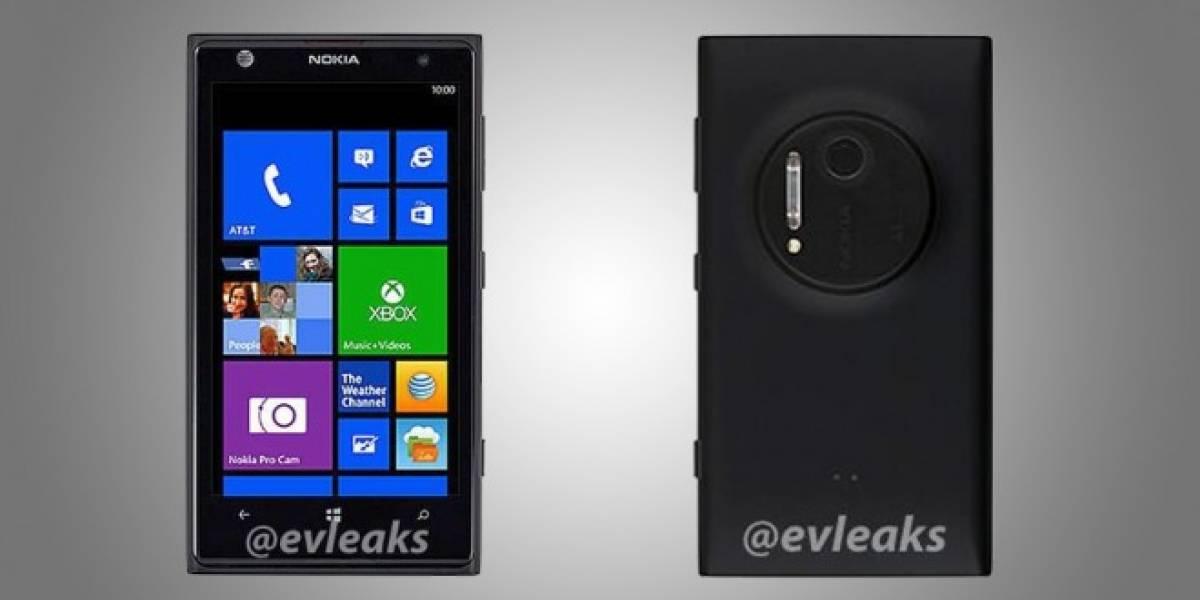 Aparecen imágenes de prensa del Nokia Lumia EOS