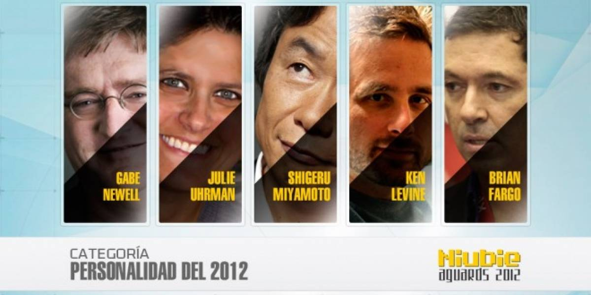 Niubie Aguards: Vota por la personalidad de 2012
