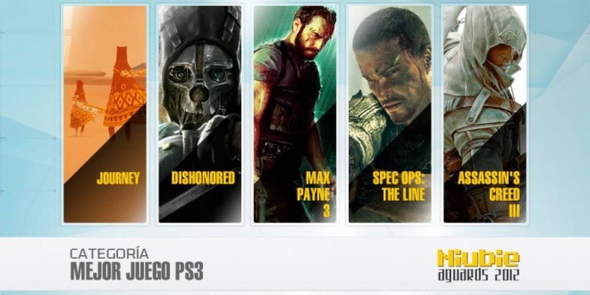 Niubie Aguards: Vota por el Mejor Juego de PlayStation 3 del 2012