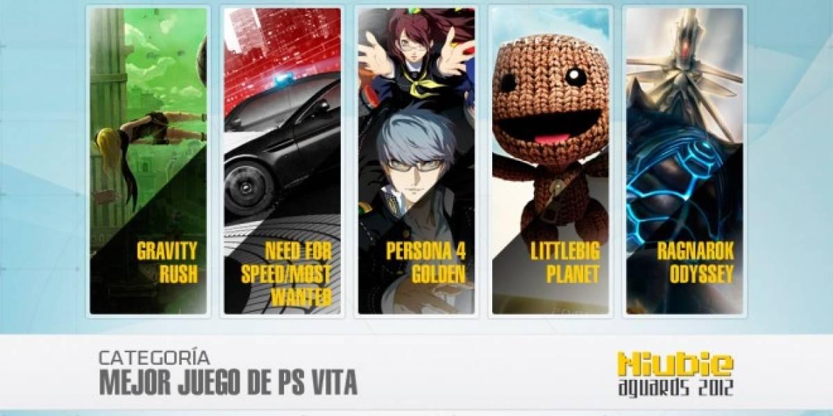 Niubie Aguards: Vota por el Mejor Juego de PS Vita del 2012