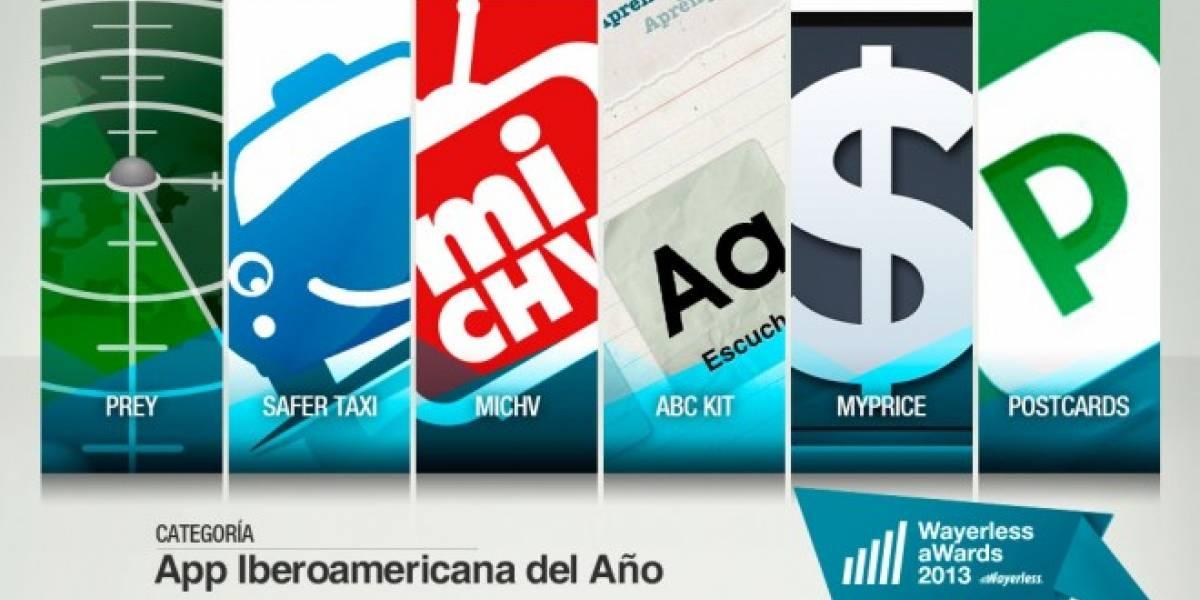 Vota por la Mejor Aplicación Iberoamericana 2013 [W aWards]