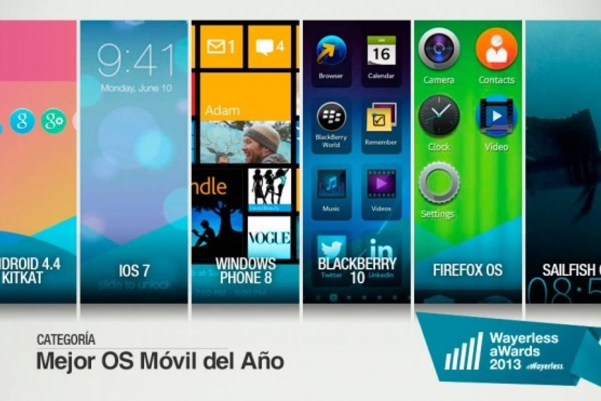 Vota por el Mejor Sistema Operativo Móvil 2013 [W aWards]
