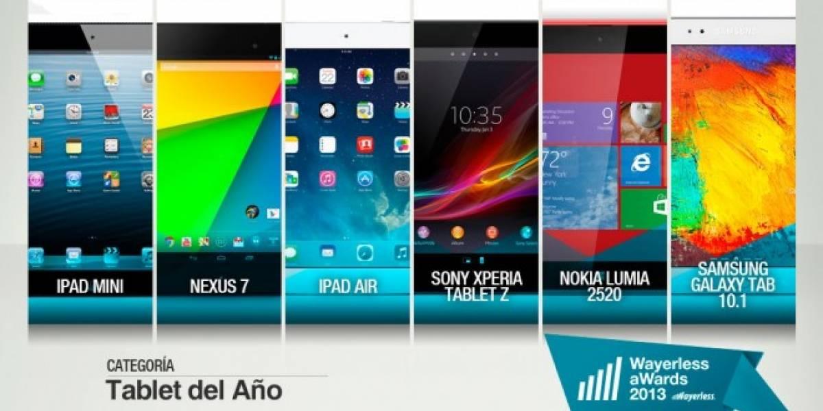 Elige al Tablet del Año 2013 [W aWards]