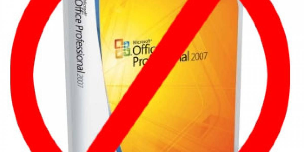 Microsoft no puede seguir comercializando Word y Office 2007 en los Estados Unidos