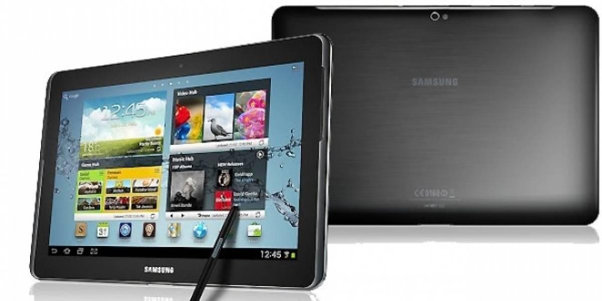 CES 2013: Samsung anuncia una versión LTE del Galaxy Note 10.1
