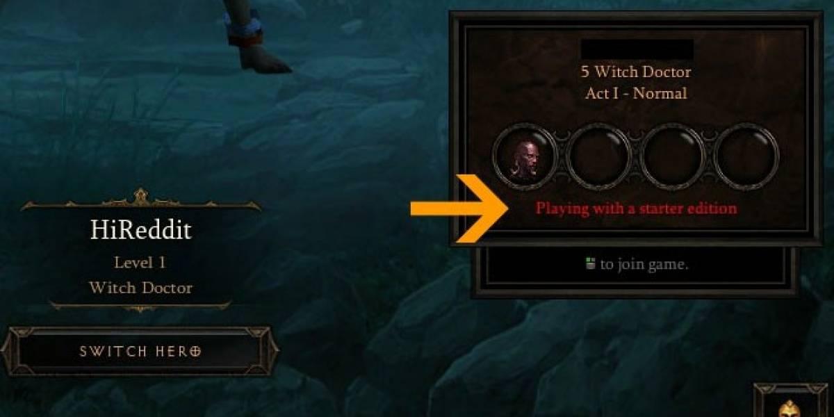 Blizzard confirma la llegada de Diablo III Starter Edition