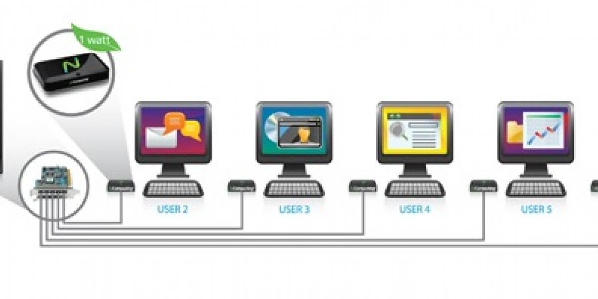 Crean chip que convierte cualquier televisor en un escritorio virtual