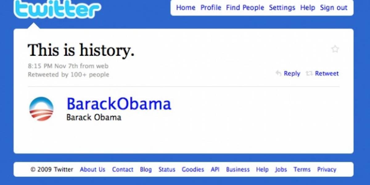 Obama confiesa que nunca ha usado Twitter