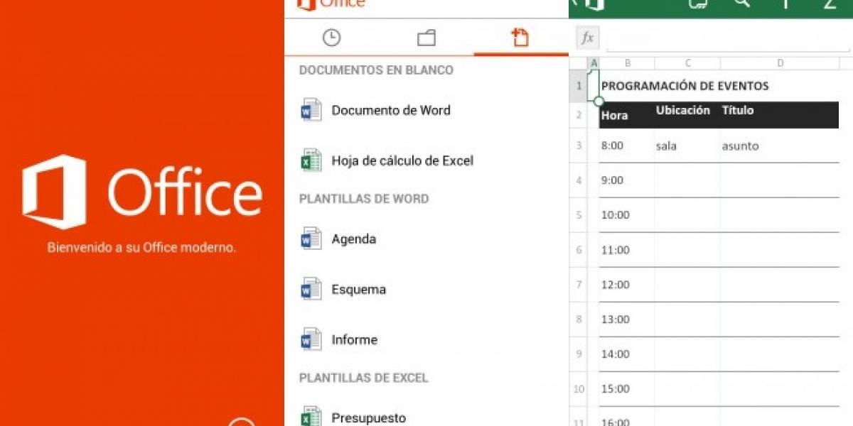 Office 365 para Android disponible en Europa y Latinoamérica