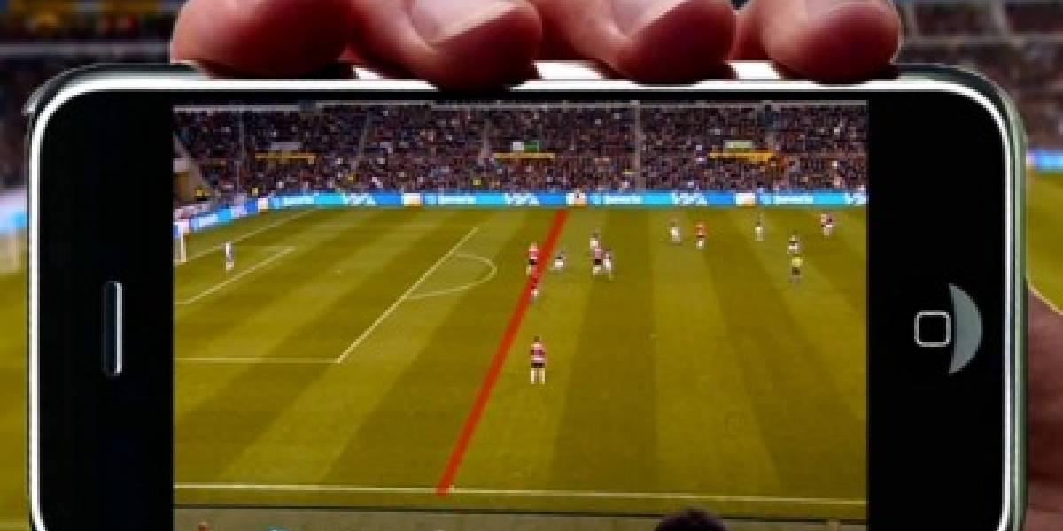Video: Realidad aumentada determinará los fuera de juego del fútbol