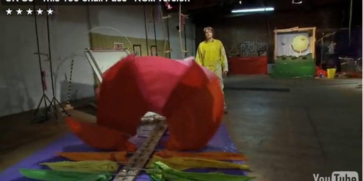 OK Go: cómo crear una máquina de secuencia extra larga para un videoclip