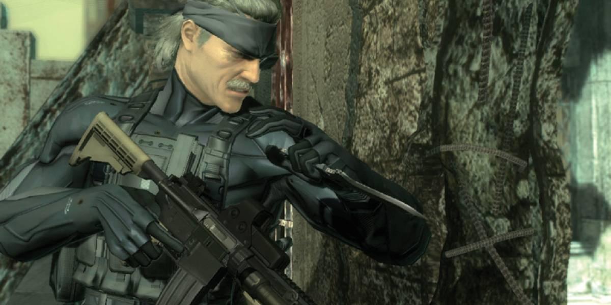 Ya está disponible el parche con los trofeos para Metal Gear Solid 4