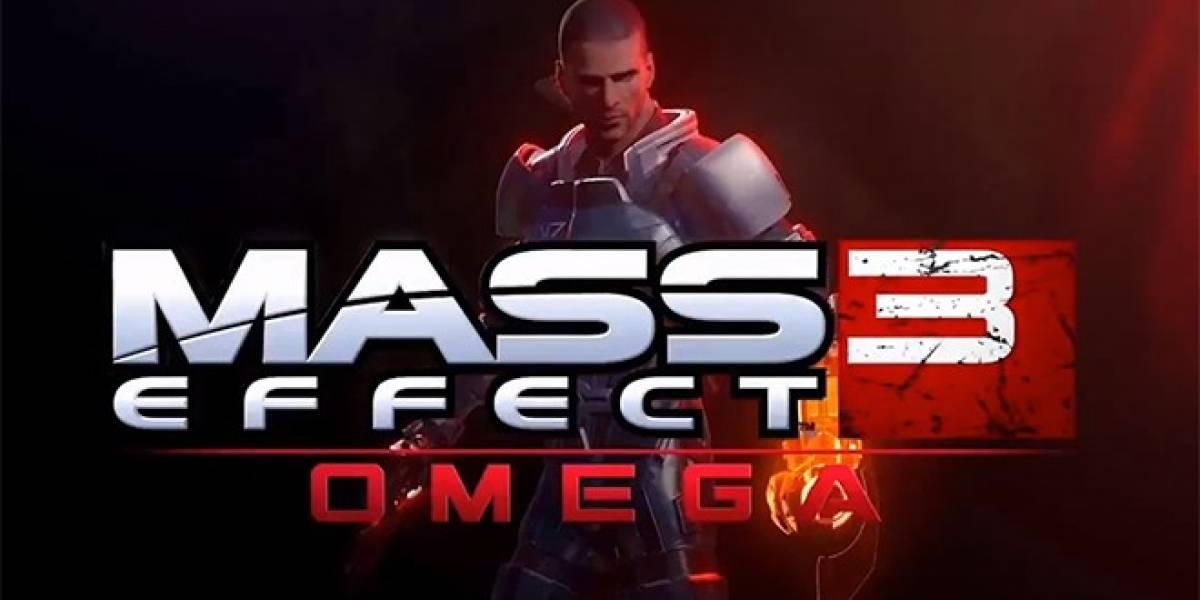 Mira el tráiler de lanzamiento de Omega, el nuevo DLC de Mass Effect 3