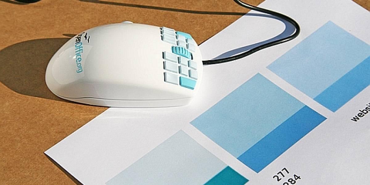 El OpenOffice Mouse tiene 18 botones